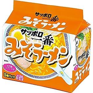 """サッポロ一番 みそラーメン 5食×6個"""""""