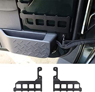 accesorios de coche aptos para J-eep W-rangler JK 2007-2017 Deflector de piedra de arena delantera y trasera 2 piezas