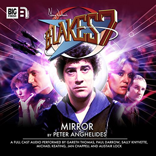Blake's 7 1.4 Mirror audiobook cover art