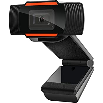 1080P Webcam AutoFocus with Microphone, USB(2.0/3.0) Computer Camera for Live Streaming Webcam,110 Degrees Wide-Angle 30fps for Laptop, Noise Reduction Desktop,Conferencing, Video Chatting