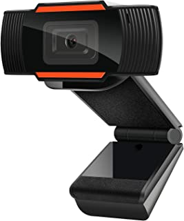 1080P Webcam AutoFocus with Microphone, USB(2.0/3.0) Computer Camera for Live Streaming Webcam,110 Degrees Wide-Angle 30fp...