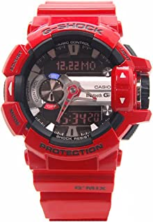 G-Shock GBA400-4A Classic Series Stylish Watch - Red/Black / One Size