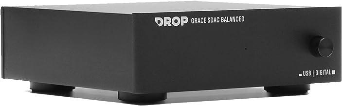 Drop + Grace Design Standard DAC Balanced — Digital-to-Analog Converter with Audiophile XLR, USB-B, 3.5mm Stereo Connectivity