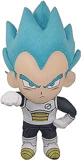 Great Eastern Entertainment Dragon Ball Super Dragon Ball Z Super Saiyan Blue SSGSS Vegeta Plush, 8