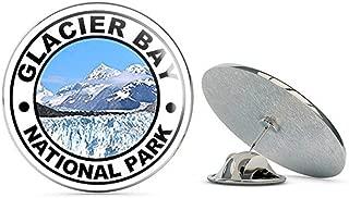 Round Glacier Bay National Park (Reserve ak Alaska Hike) Metal 0.75