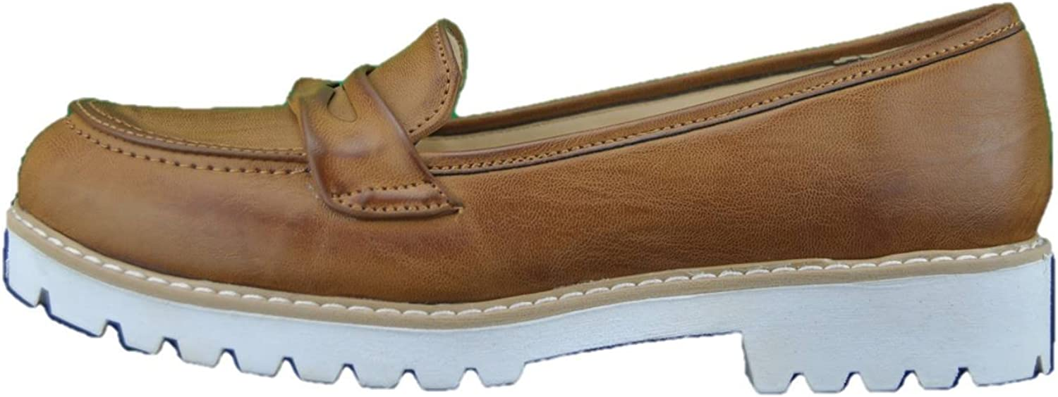 INART...women Moccasins shoes Woman Leather Made in