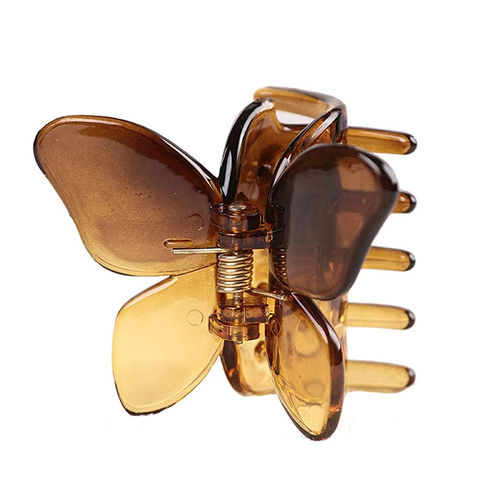 Dream Amy Butterfly Bow Hair Claw Clip Strong Holding Power Hair Clips Clamps qcikluxm119