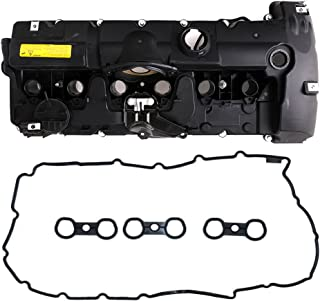 Engine Valve Cover with Gaskets and Bolts for BMW 128i 328i 328xi 528i 528xi X3 X5 Z4 Replace # 11127552281