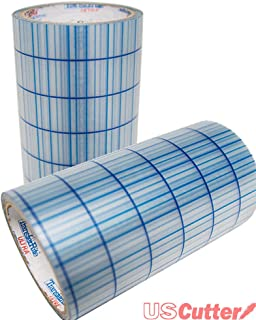 TransferRite Ultra Clear Medium Tack Transfer/Application Tape w/Grid, 12