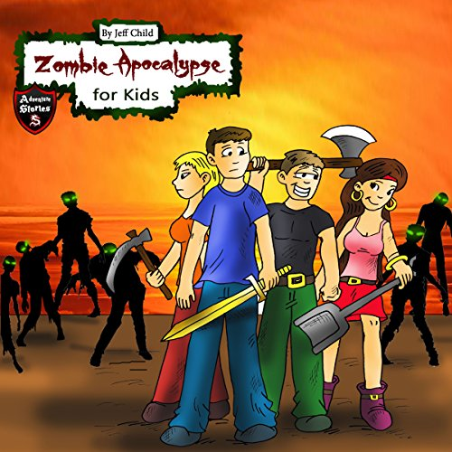 Zombie Apocalypse for Kids audiobook cover art