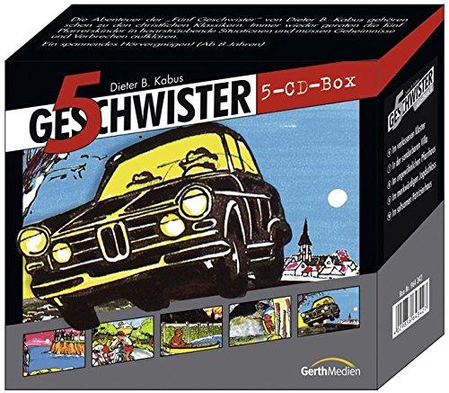 CD-Box 2: 5 Geschwister (5 CDs): Die Sammelbox mit Preisvorteil