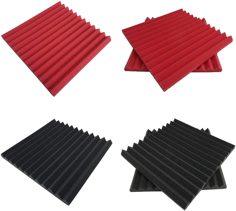 6pcs Wall Sponge for KTV Treatment Studio Room Antiflaming Noise Wedge Tiles Soundproofing Foam SoundAbsorbing Acoustic