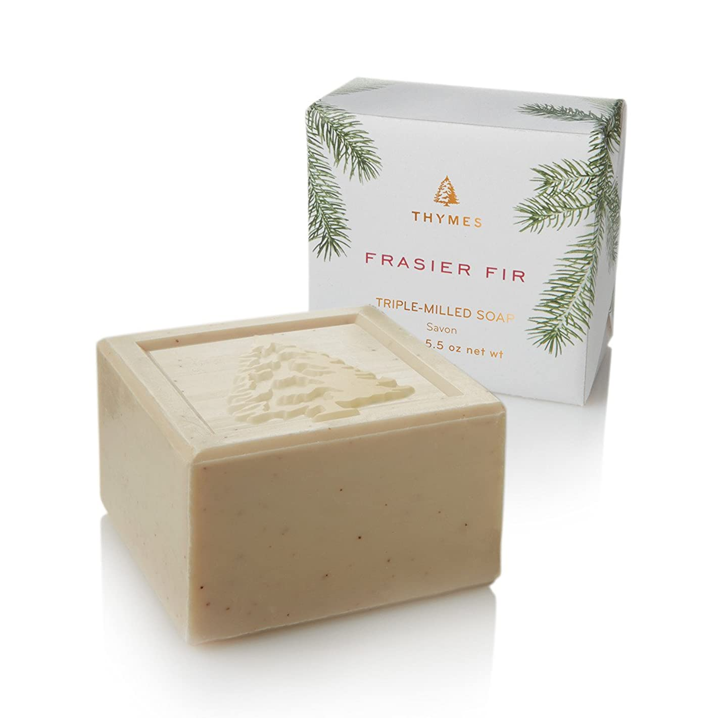 はず守銭奴つぶすThymes Frasier Fir Bar Soap 155g/5.5oz
