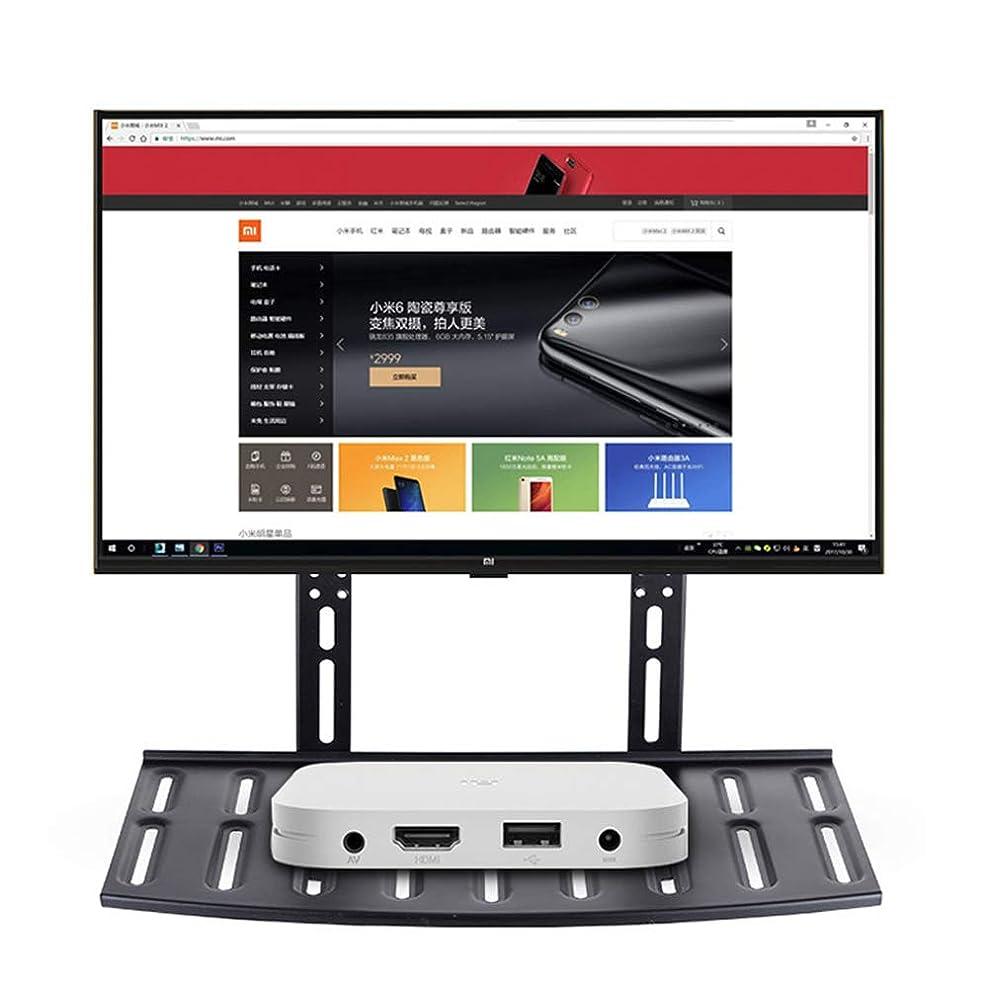 指標誰が克服するTVブラケット、TVウォールブラケット、調整可能な高耐久性壁掛けTV 26-50インチのTVスクリーンポータブルTV LCD LED TVスタンド、最大負荷容量10kg