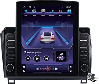 Android 9.0 Car Stereo, Radio for Toyota Sequoia 2008-2018/Tundra 2006-2013 GPS Navigation 9.7 Inch Vertical Screen Head U...