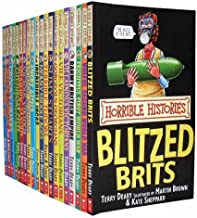Horrible Histories Collection 20 Books Set Pack RRP: £120.00 (Savage Stone Age, Awesome Egyptians, Groovy Greeks, Rotten Romans, Cut-Throat Celts, Smashing Saxons, Vicious Vikings, Stormin Normans , Angry Aztecs, Incredible Incas, Measly Middle Age.) (