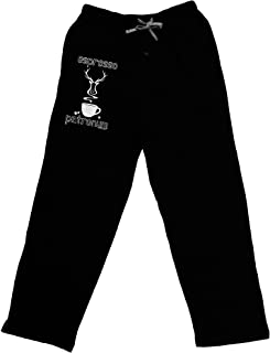 TOOLOUD Espresso Patronum Adult Lounge Pants