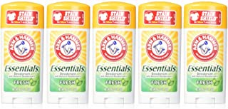 ARM & HAMMER Essentials Natural Deodorant Fresh 2.50 oz (Pack of 5)