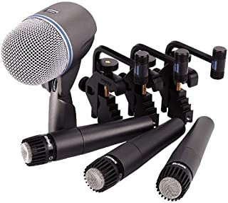 Shure DMK57-52 Drum Microphone Kit (Renewed)