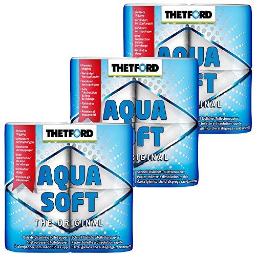 Thetford 3X Camping Toilettenpapier Aqua Soft