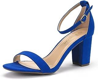 blue cobalt heels