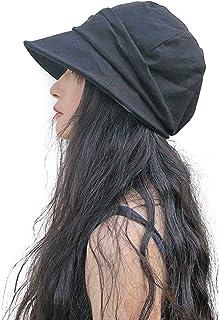帽子 レディース uvカット キャスケット 小顔効果抜群 折りたたみ 持ち運び便利 春 夏 紫外線最大100%カット 日よけ 熱中症予防