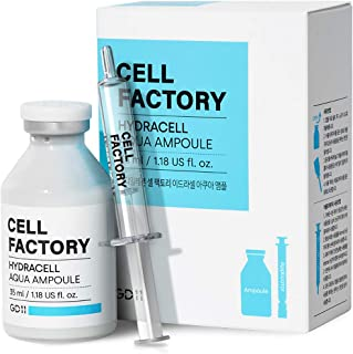 GD-11 HYDRACELL AQUA AMPOULE STEM CELL BOOSTER SERUM for Antiaging & Moisturizing with HYALURONIC ACID AND PEPTIDE COMPLEX 1.18FL OZ