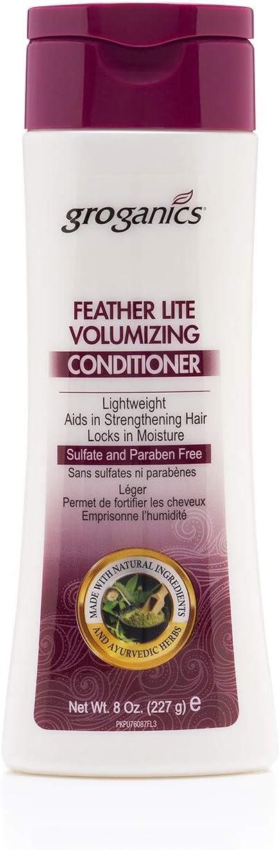 Groganics Feather Lite Volumizing Conditioner - lightweight, dee