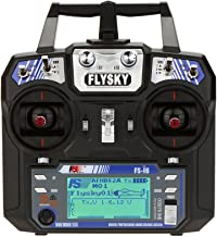 GoolRC Flysky FS-i6 AFHDS 2A 2.4GHz 6CH Radio System Transmitter for RC Helicopter Glider with FS-iA6 Receiver