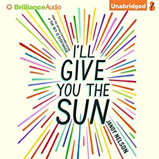 I'll Give You the Sun                   By:                                                                                                                                 Jandy Nelson                               Narrated by:                                                                                                                                 Julia Whelan,                                                                                        Jesse Bernstein                      Length: 12 hrs and 57 mins     135 ratings     Overall 4.3