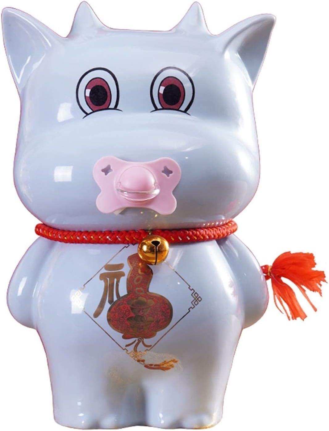 Max 62% OFF Liushop Piggy Bank Cute Calf Fixed price for sale Chil Creative