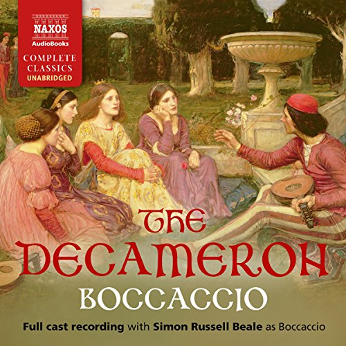 The Decameron audiobook cover art