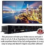 3x3 HDMI Video Wall Processor (2019 Version) HD TV 1080P Matrix Controller...