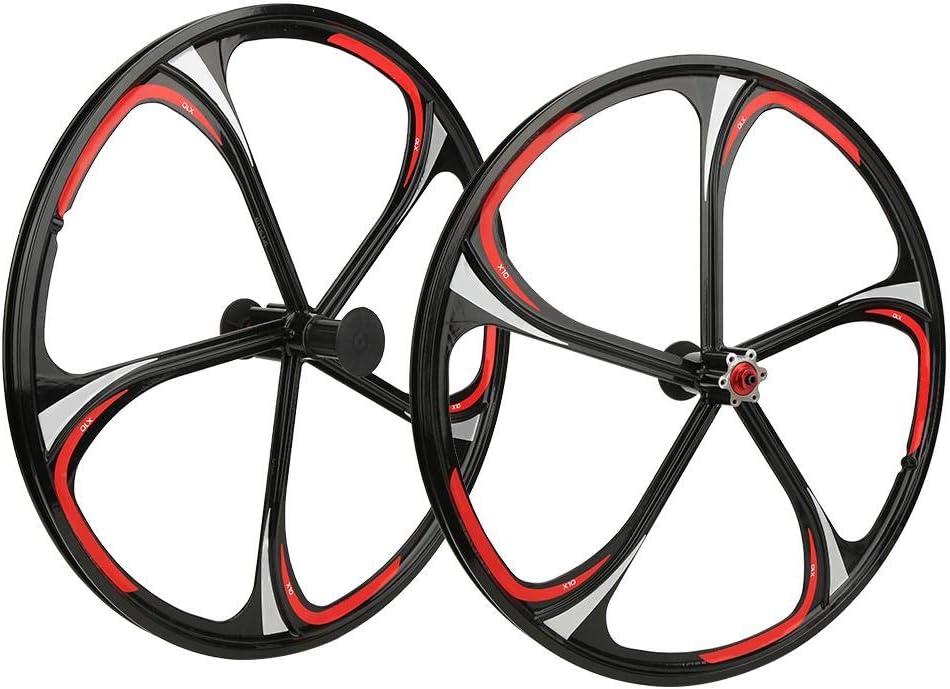 Teror Bike Wheel Set OFFicial shop Excellent 26in Alloy 5 Integrated Aluminium Hub