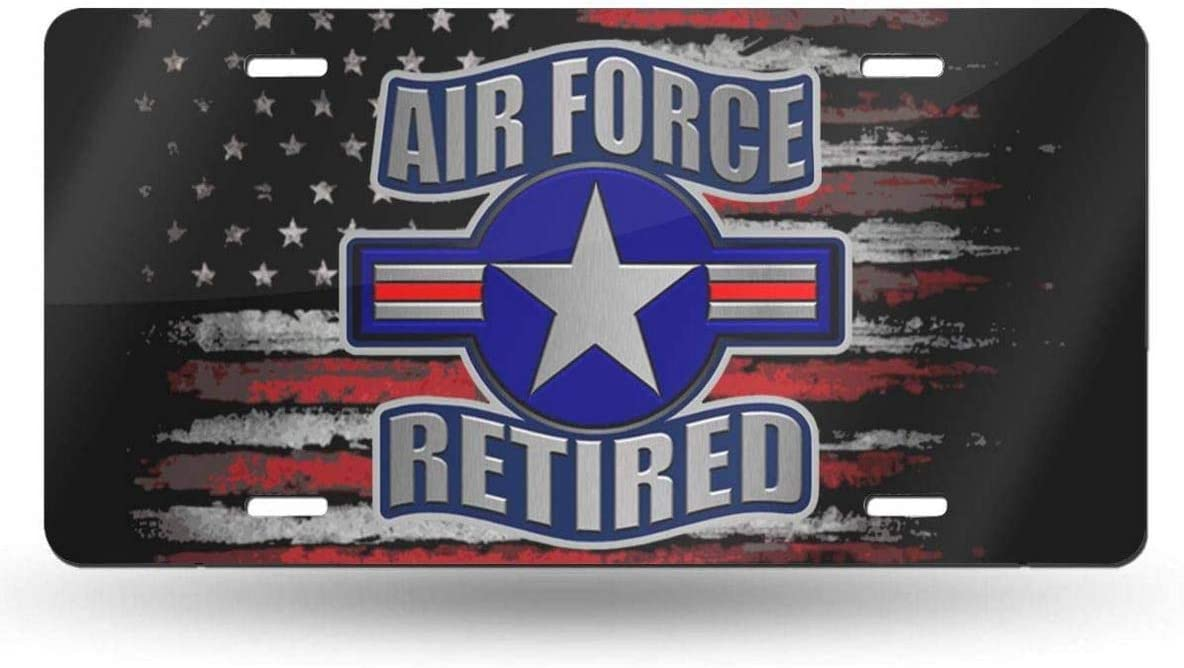 WSEDRF Cheap SALE Start US Air Force Retired Novelty Cover Plate Milwaukee Mall License