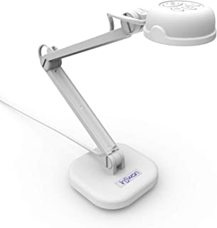 INSWAN INS-1 Tiny 8MP USB Document Camera with Auto-Focus and LED Supplemental Light, Excellent for Distance Education and...