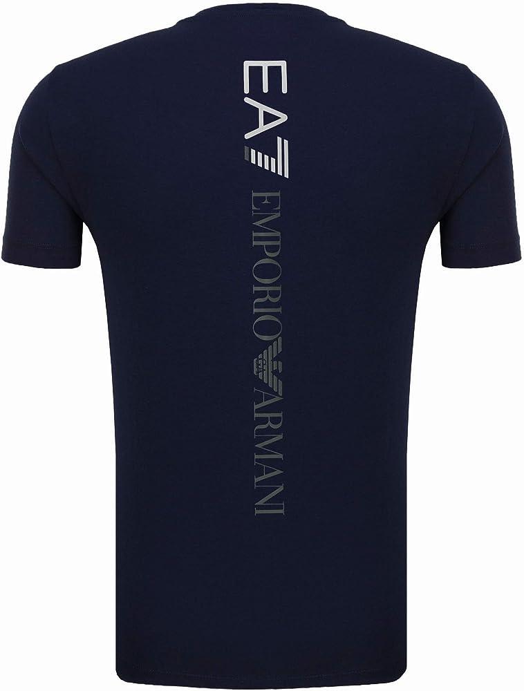 Emporio armani ea7 t-shirt maglietta a maniche corte 95% cotone 5% elastan 3GPT08 PJ03Z