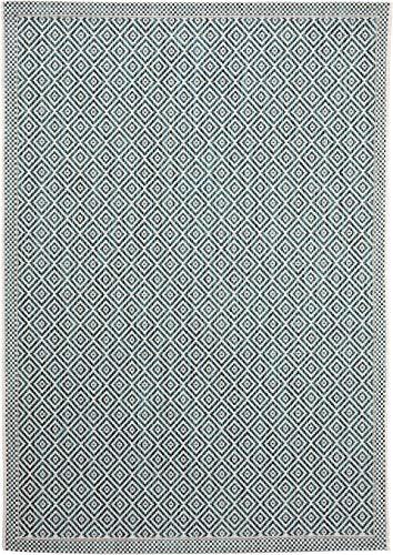 benuta PLUS In- & Outdoor-Teppich Cleo Blau 80x150 cm - Outdoor-Teppich für Balkon & Garten