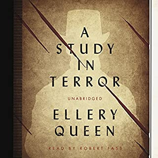 A Study in Terror audiobook cover art