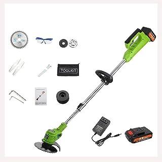 RSBCSHI Tondeuse à Gazon électrique de ménage, Tondeuse à pelouse sans Fil et Tondeuse à pelouse de la pelouse à la pelous...