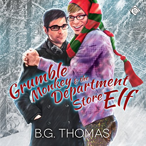 Grumble Monkey and the Department Store Elf audiobook cover art
