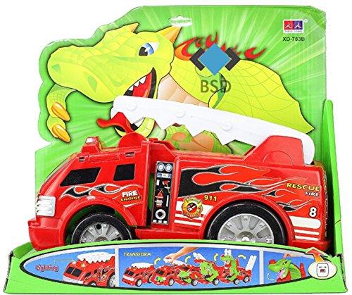 BSD Camion de Pompiers avec Son et lumière - Fire Engine - Fire Engine - Camion de Pompiers - Piles Pompiers - Camion de Pompiers
