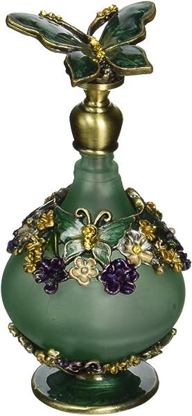 H D 复古迷你绿色蝴蝶香水瓶 24毫升