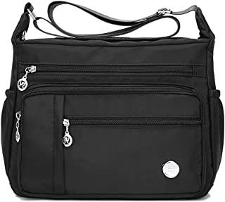 Women Shoulder Handbag Roomy Multiple Pockets Bag Ladies Crossbody Purse Fashion Tote Top Handle Satchel