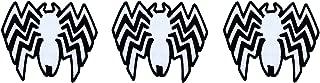 Marvel LOUNGEFLY Venom Logo Patch Set of 3