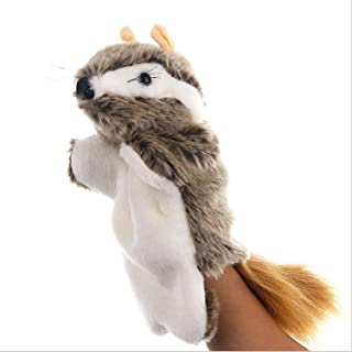 Squirrel Hand Puppets Plush Animal Toys for Imaginative Pretend Play Stocking Storytelling