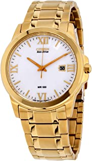 Citizen Corso Eco-Drive White Dial Men's Watch BM7262-57A