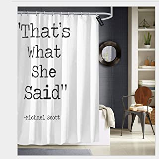 the office shower curtain