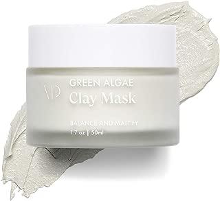 Vanity Planet Green Algae Clay Mask - All-natural Antibacterial Formula - Skin Clearing Acne Solution, 1.7 Oz./ 50 ml.