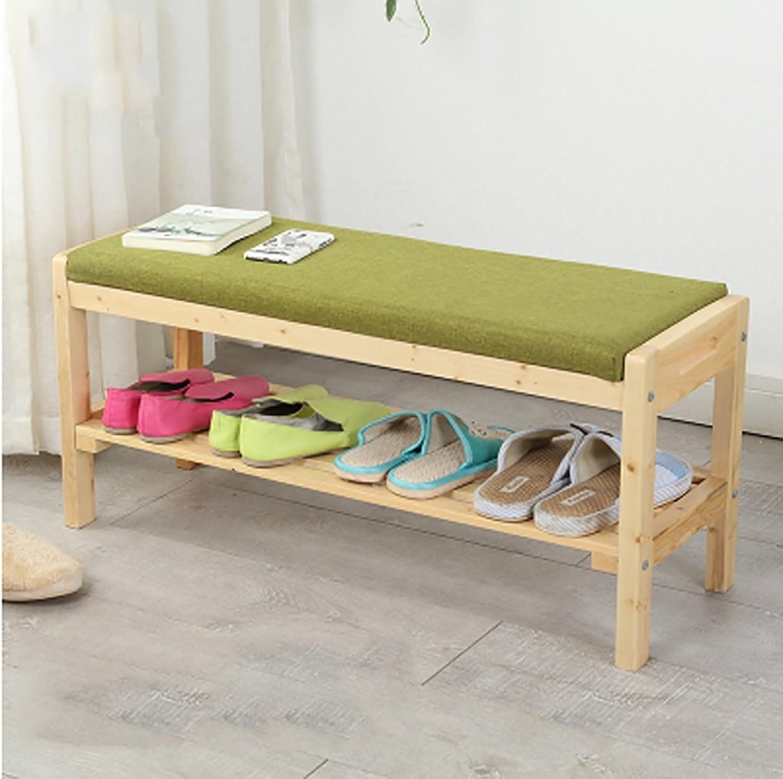 Bench, Retro Wooden shoes Bench, Single Store shoes Rack, Gym Locker Room Rest Stool Size  85  40  30cm (color   C)